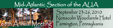 68th Annual Meeting, September 23-26 2010, Nemacolin Woodlands Hotel, Farmington, Pennsylvania