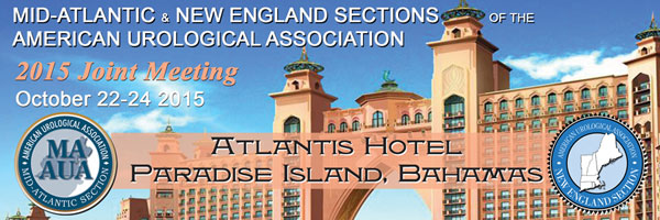 Joint Annual Meeting with the New England Section of the AUA, October 22-24, 2015