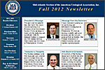 MAAUA Newsletter for Fall, 2012