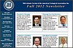 MAAUA Newsletter for Fall, 2012