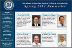 MAAUA Newsletter for Spring, 2012