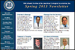 MAAUA Newsletter for Spring, 2013